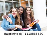 group multi ethnic young...   Shutterstock . vector #1110885680
