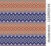 webbing seamless beaded pattern ... | Shutterstock .eps vector #1110903146