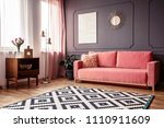 side angle of a living room... | Shutterstock . vector #1110911609