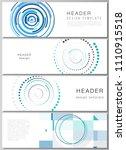 the minimalistic vector... | Shutterstock .eps vector #1110915518