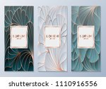 design templates for flyers ... | Shutterstock .eps vector #1110916556