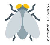 house fly or bug | Shutterstock .eps vector #1110930779