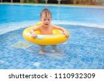 cute little asian 2 years old... | Shutterstock . vector #1110932309