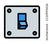 light power switch | Shutterstock .eps vector #1110945626