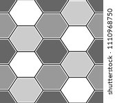 hexagons. honeycomb. mosaic.... | Shutterstock .eps vector #1110968750
