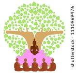vector illustration symbol of... | Shutterstock .eps vector #1110969476