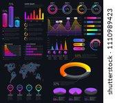 modern modern infographic... | Shutterstock . vector #1110989423