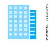 vector hotel building   modern... | Shutterstock .eps vector #1111003448