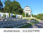 lviv   circa august 2013  ... | Shutterstock . vector #1111027490