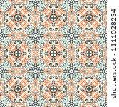 seamless abstract web... | Shutterstock . vector #1111028234
