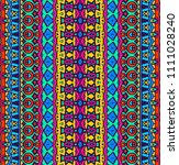 bright colored seamless pattern ... | Shutterstock . vector #1111028240