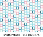 seamless pattern  colorful...   Shutterstock .eps vector #1111028276
