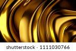 luxurious golden background... | Shutterstock . vector #1111030766