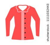 vector jacket illustration... | Shutterstock .eps vector #1111032443