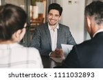 business  career and placement... | Shutterstock . vector #1111032893