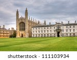 Kings College Chapel Exterior...