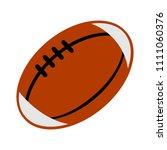 vector american football ball... | Shutterstock .eps vector #1111060376