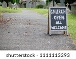 A Sign For An Open Church For...