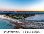 carbonate travertines the...   Shutterstock . vector #1111113503