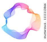 design elements. wave of many...   Shutterstock .eps vector #1111113866