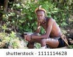 lesedi cultural village  south... | Shutterstock . vector #1111114628