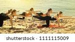 group of  happy positive...   Shutterstock . vector #1111115009