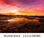 beautiful  bright  saturated ... | Shutterstock . vector #1111128380