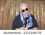 a man sings a song. a man sings ...   Shutterstock . vector #1111146170