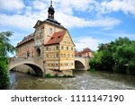 bamburg  bavaria germany  05 19 ... | Shutterstock . vector #1111147190