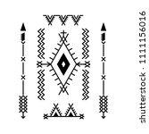 design element based on... | Shutterstock .eps vector #1111156016