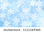 light blue vector layout with... | Shutterstock .eps vector #1111169360