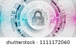 protection mechanism  concept ... | Shutterstock .eps vector #1111172060
