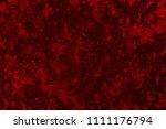 dark crimson grunge texture... | Shutterstock . vector #1111176794