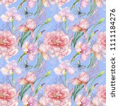 seamless pattern for fabric.... | Shutterstock . vector #1111184276