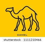 camel icon signs | Shutterstock .eps vector #1111210466