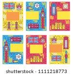 england brochure cards thin...   Shutterstock . vector #1111218773