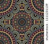 abstract seamless mandala... | Shutterstock .eps vector #1111231139