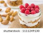 tasty natural and healthy... | Shutterstock . vector #1111249130