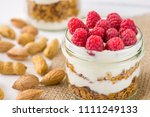 tasty natural and healthy... | Shutterstock . vector #1111249133