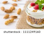 tasty natural and healthy... | Shutterstock . vector #1111249160