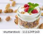 tasty natural and healthy... | Shutterstock . vector #1111249163