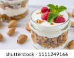 tasty natural and healthy... | Shutterstock . vector #1111249166