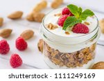 tasty natural and healthy... | Shutterstock . vector #1111249169