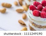 tasty natural and healthy... | Shutterstock . vector #1111249190