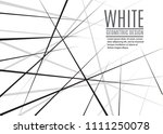 random chaotic lines abstract... | Shutterstock .eps vector #1111250078
