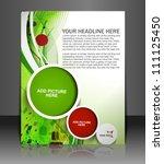 business style letterhead... | Shutterstock .eps vector #111125450
