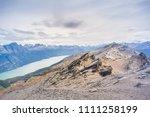 top of cerro guanaco  tierra... | Shutterstock . vector #1111258199