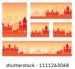 et of madrid landscape country... | Shutterstock . vector #1111263068