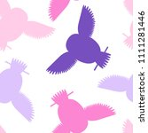 seamless vector pattern with... | Shutterstock .eps vector #1111281446