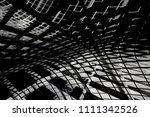curvilinear grid structure.... | Shutterstock . vector #1111342526